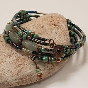 Green Advenurine Bracelet